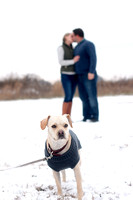 Adam and Nicole ~ Arena, WI Winter Engagement Session